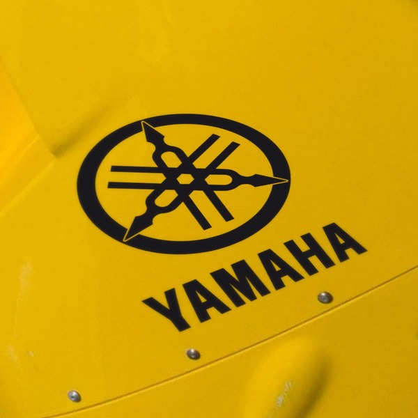 Car and Motorbike Stickers: Yanaha IX