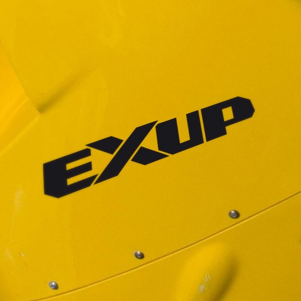 Car & Motorbike Stickers: Exup