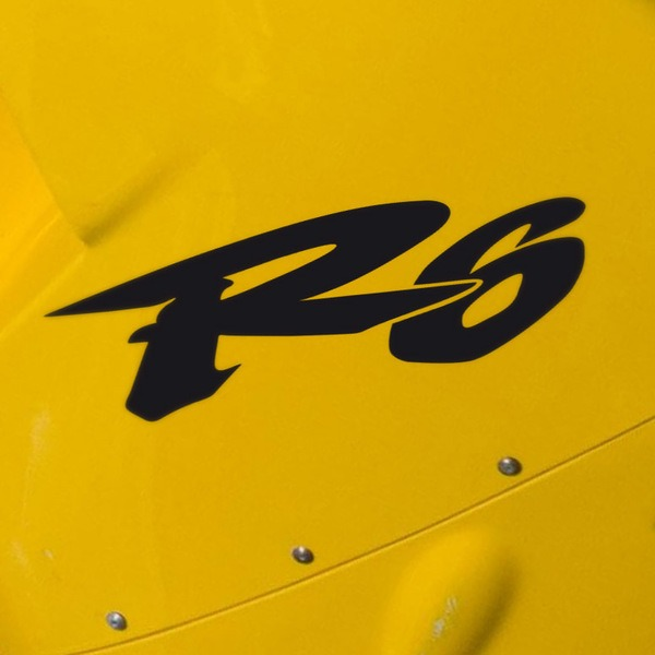 Car & Motorbike Stickers: Yamaha R6