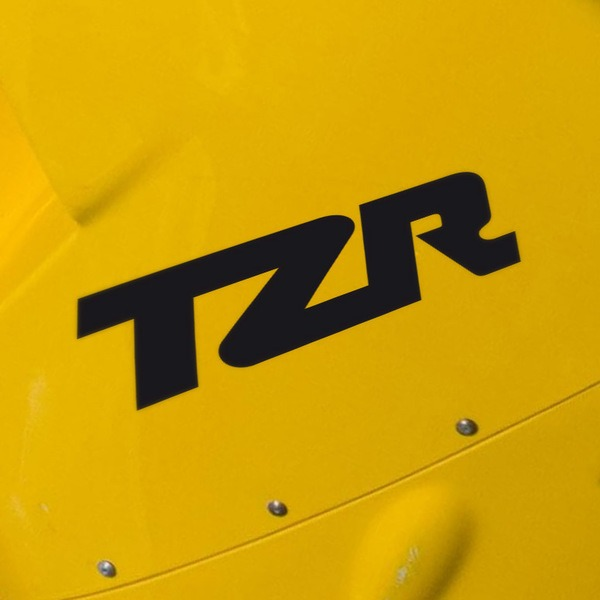 Car and Motorbike Stickers: TZR