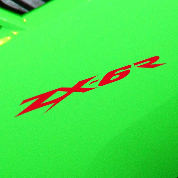 Car and Motorbike Stickers: ZX-6