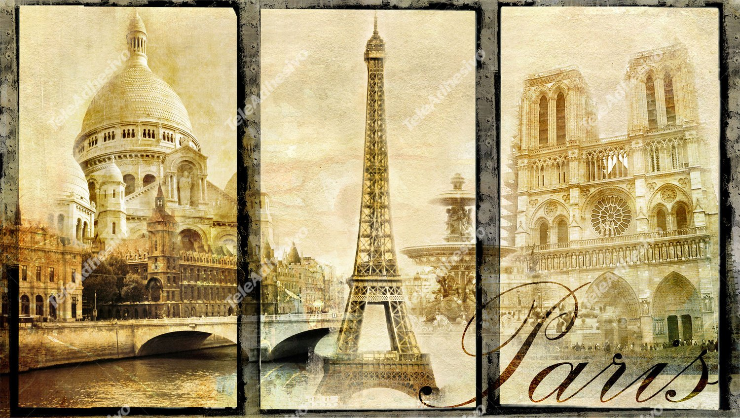 Wall Murals: Classical Paris