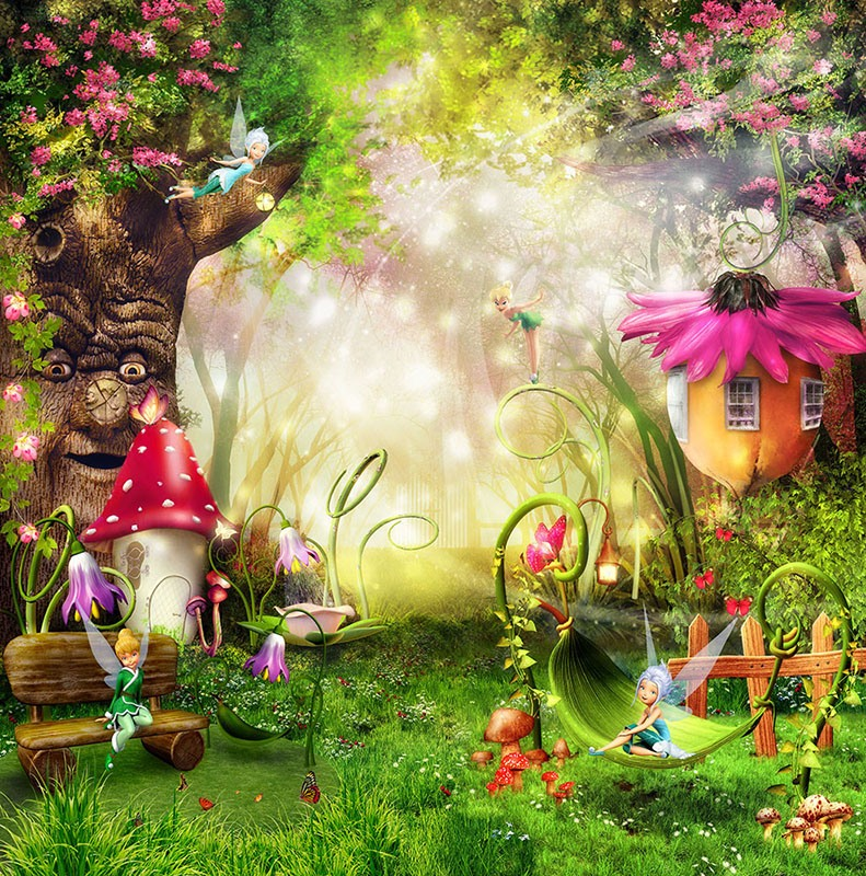 Wall Murals: The Garden Fairy