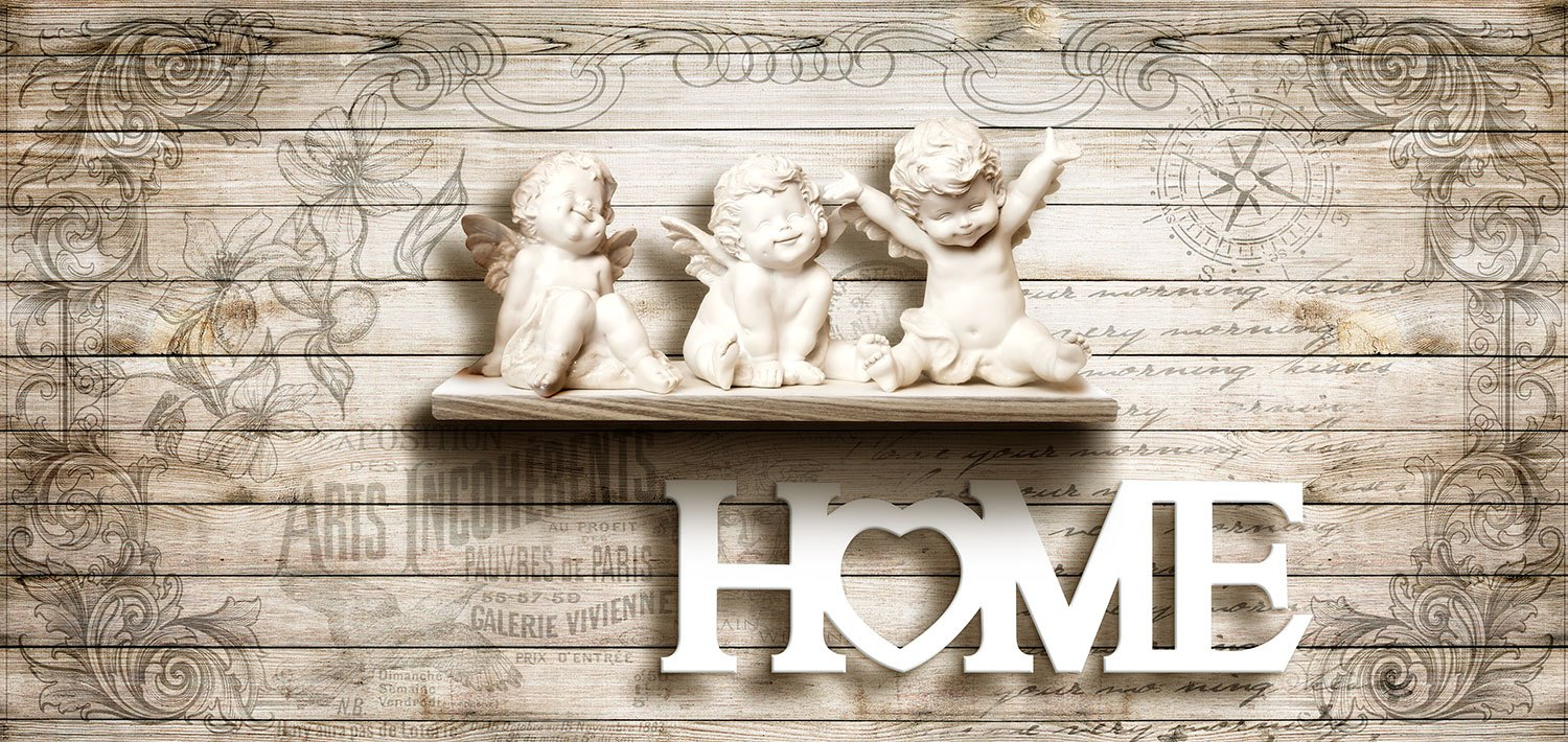 Wall Murals: Angels at home